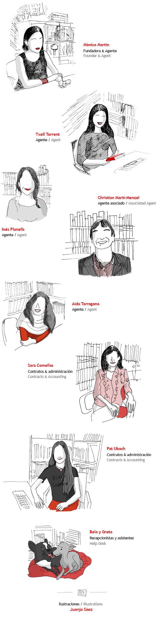 Equipo de MB Agencia Literaria